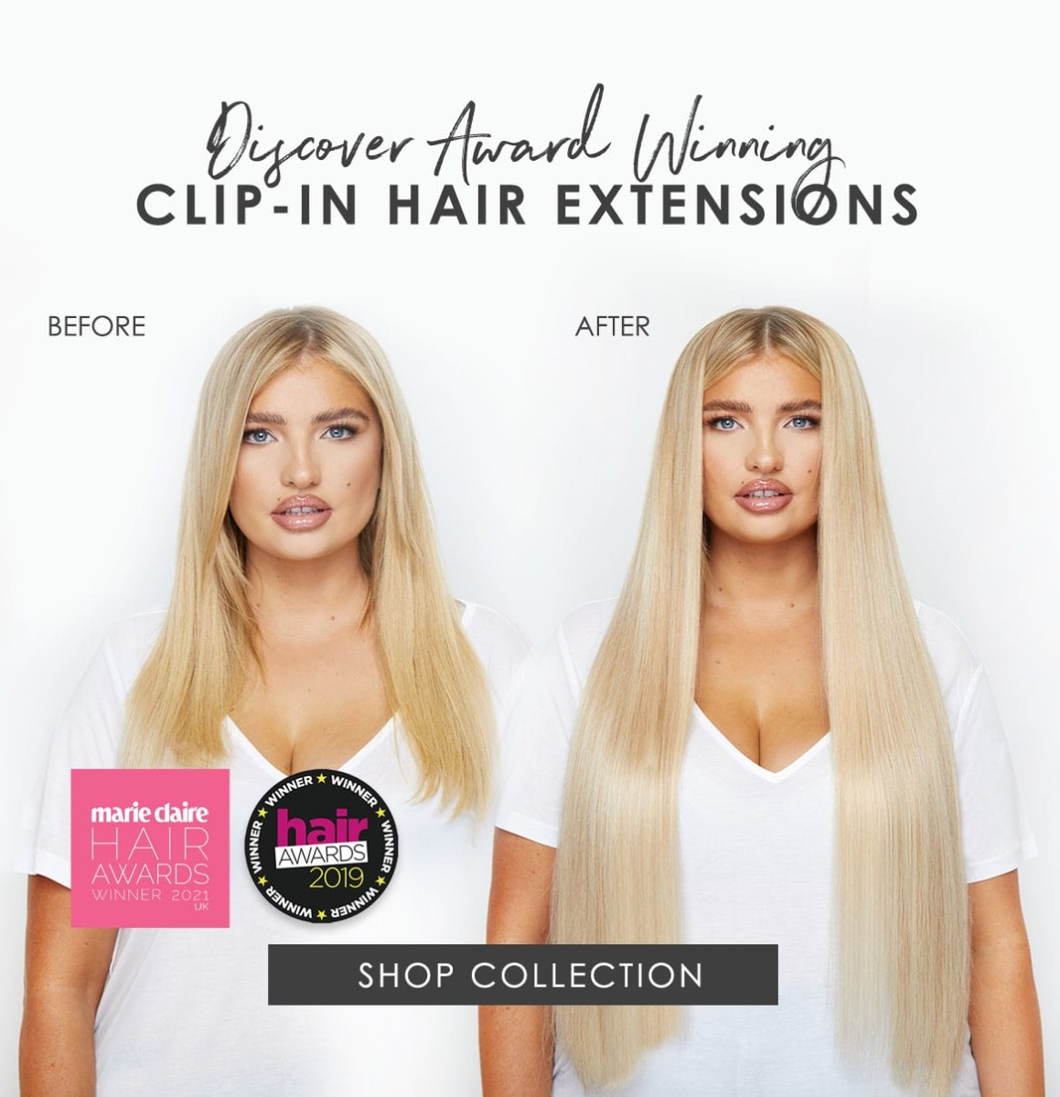 Beauty Works Luxury Hair Extensions Clip-ins